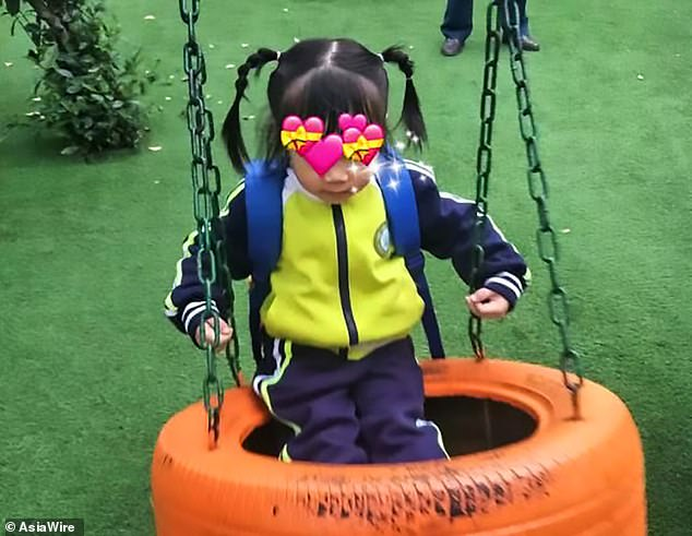 Four-year-old Qi Qi has died after she was left in her father's car for nine hours in the blistering heat on Monday in Yiyang, south China's Hunan province