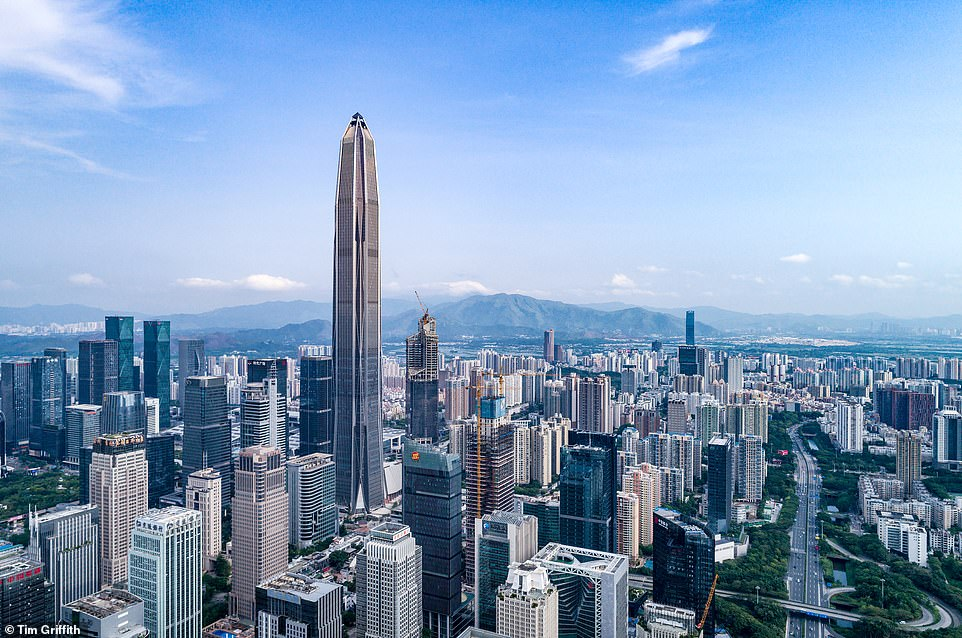The Ping An Finance Centre in Shenzhen is China's second tallest building and the winner of the award for best tall building over 400 metres