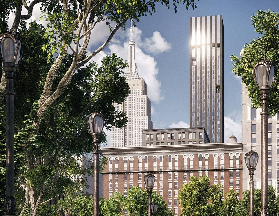 The winner of the award for the best residential building is 277 Fifth Avenue in New York, which boasts expansive views over the city