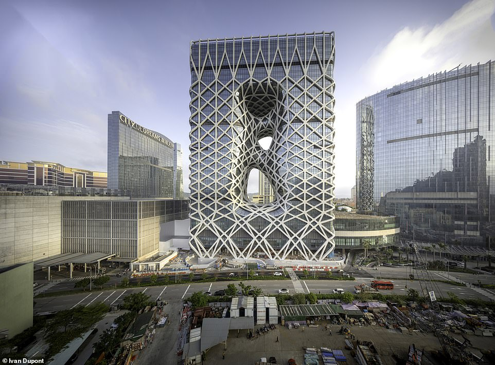 The Morpheus buildingscooped the award for the best fire and risk engineering