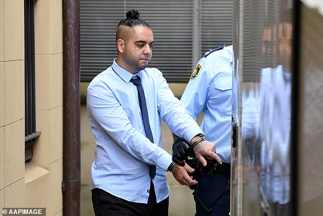 Justice Elizabeth Fullerton in the NSW Supreme Court on Friday jailed Khazma (pictured) for 44 years with a non-parole period of 33 years