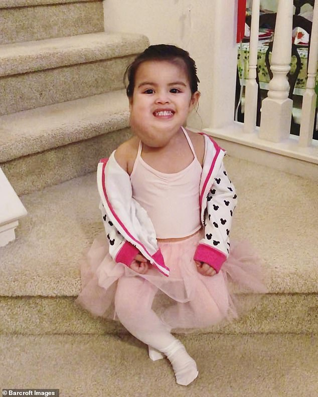 Olivia started ballet lessons earlier this year which has boosted her confidence