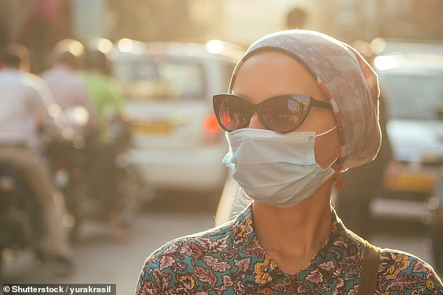 A new air filter may kill bacteria and viruses floating in the air in the blink of an eye (stock)