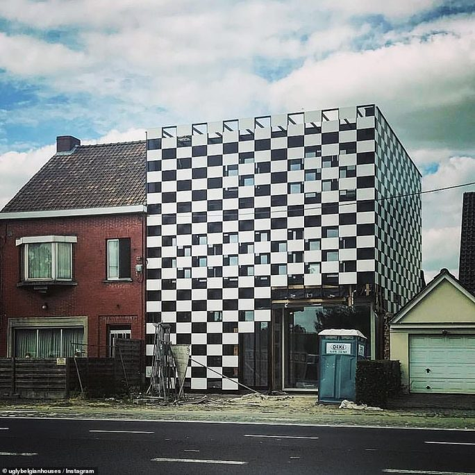 Did these homeowners 'check' with the neighbours that it was fine to give the exterior of their house a new design?