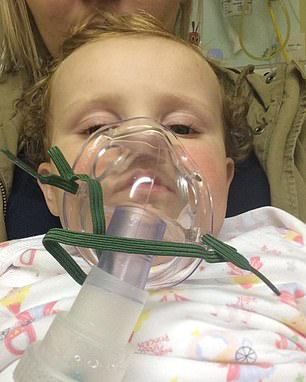 She still requires nebulisers to open her airways
