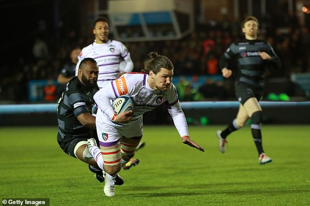 Leicester Tigers recorded a crucial seventh win of the season at Newcastle