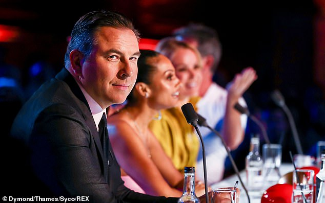 Back: Last weekends Saturday episode saw judges Amanda, Alesha, Simon and David Walliams return to the small screen to look out for best in British talent