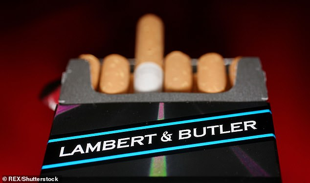 Imperial Brands is best known for its cigarettes by Davidoff and Lambert and Butler (pictured)