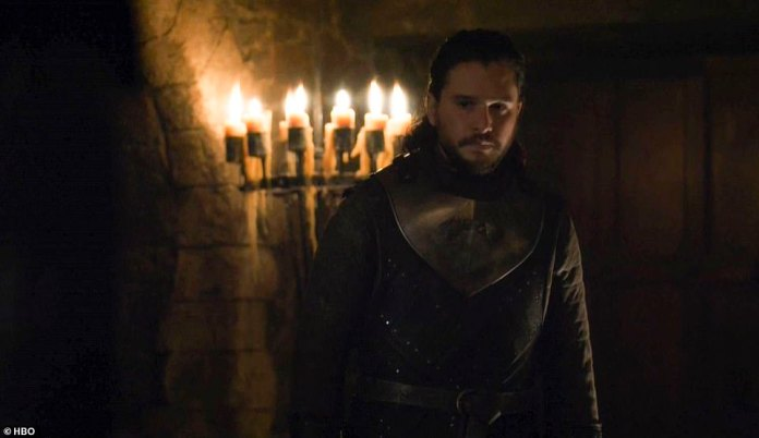The truth:Jon Snow (Kit Harington) finally learned the truth about who he really is - the true heir to the Iron Throne, while his new queen