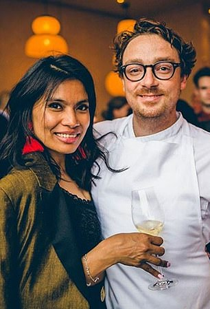 Executive Chef Ben Orpwood and his wife