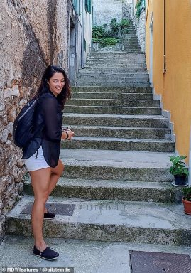 On her latest trip, Emilie visited Croatia, which she says is one of her favourite countries.