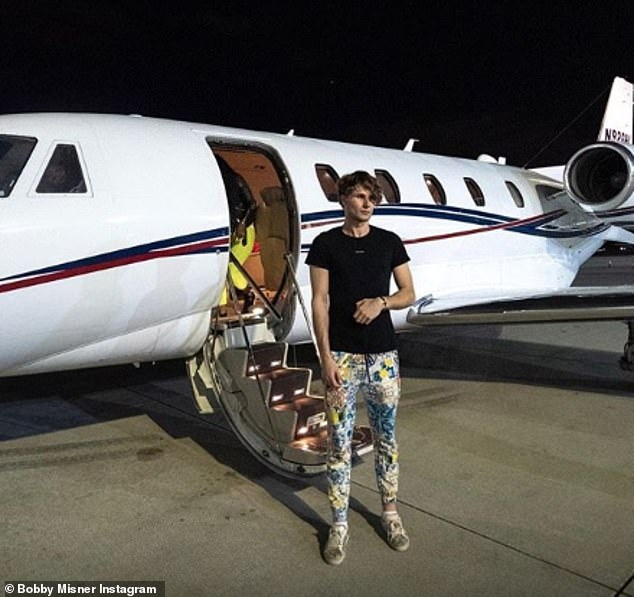 The vlogger, who has caused much controversy with his ostentatious displays of wealth, has now revealed he once splurged £13,000 during a two-day party, which saw him fly a girl to Ibiza on his father's private jet - seen - before buying her a diamond ring and 'marrying' her