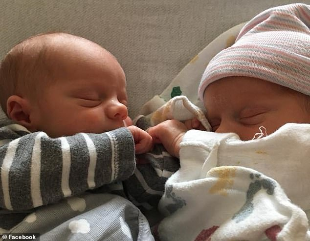 The little boys sharing a moment together. Despite Jackson's ordeals, they are close