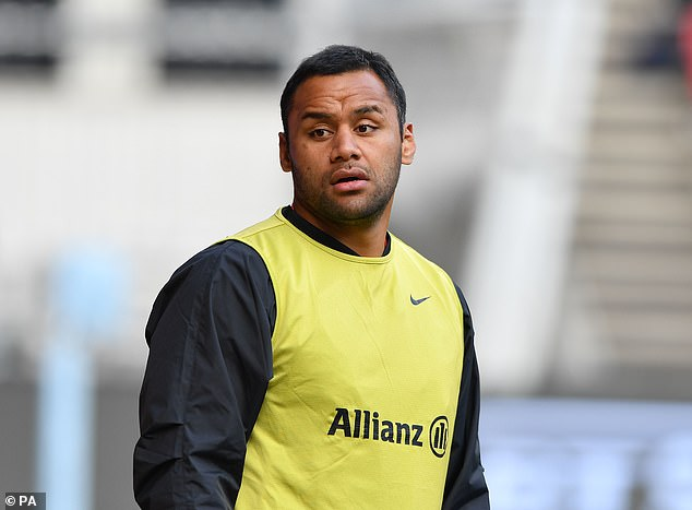Billy Vunipola has been warned of controversial social media comments in support of Israel Folau