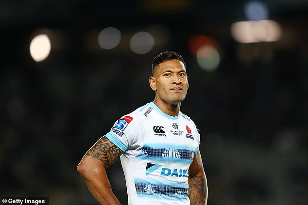 Israel Folau's comments that homosexuals go to hell will probably cost him his career