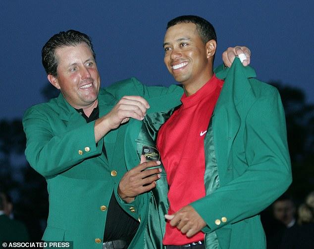 Woods letzter Masters-Sieg vor Sonntag war 2005, vor 14 Jahren