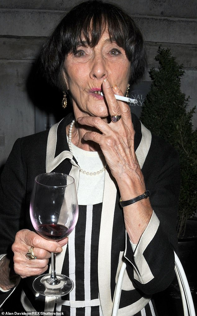 What's the point? EastEnders legend June Brown, 92, said she doesn't see the point in trying to give up smoking or drinking red wine