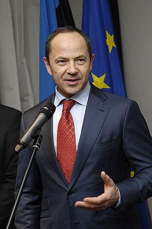 Anna Tigipko's father,former Ukrainian vice-prime minister Sergiy Tigipko, joined in her battle to keep the case secret