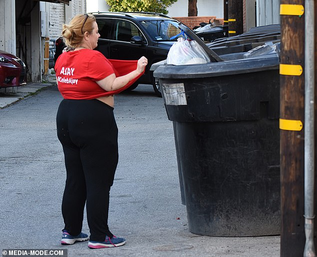 Sea change: After her legal dramas concluded, she relocated to the U.S. and was replaced as host of The Biggest Loser by Hayley Lewis