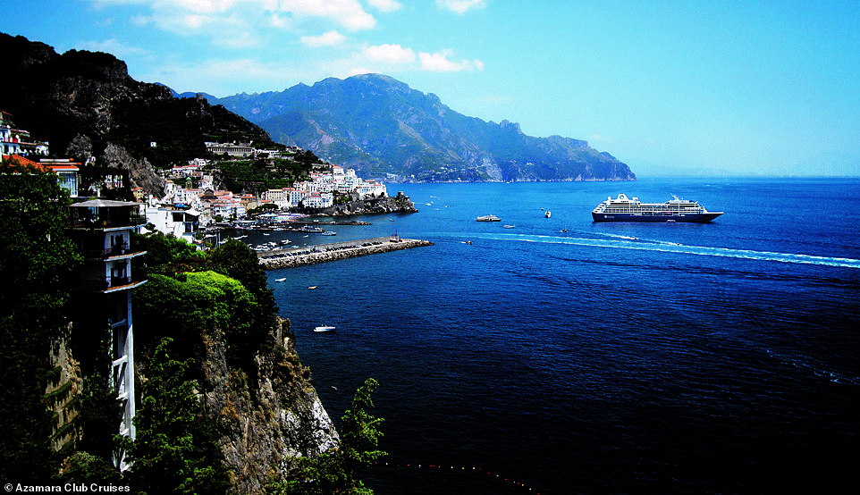 Azamara Club Cruises offers various trips with one of its most popular ones taking passengers around the breathtaking Amalfi Coast on the southern edge of Italy's Sorrentine Peninsula. The Amalfi Coast was listed as a Unesco World Heritage Site in 1997 for its 'cultural and natural scenic values'
