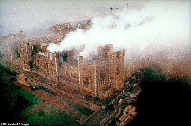 Around 1,500 builders were drafted in and a £36.5 million repair job saw the 14th-century building reopen in 1997