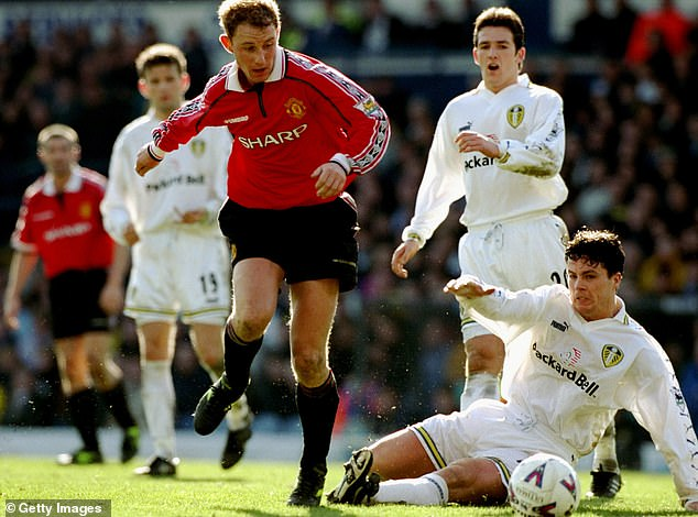 Butt, who played for Leeds in 2000, played for Manchester United for 12 years