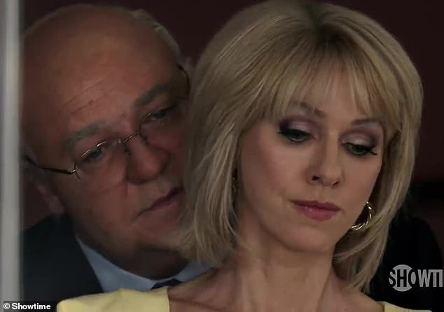 Fox News Film Shows Russell Crowe As Roger Ailes Groping Gretchen