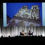 Michelle Obama was on a Paris cruise when Notre Dame caught fire
