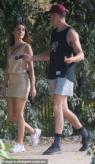 What would Alex say? The sighting comes months after Bill was spotted passionately kissing Alex in a Melbourne park just 24 hours after filming Bachelor In Paradise's season finale