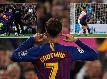 Barcelona fans won't forget Philippe Coutinho's taunting celebration despite brilliant performance