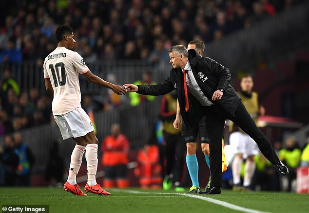 The 21-year-old has found his best form under the leadership of Ole Gunnar Solskjaer
