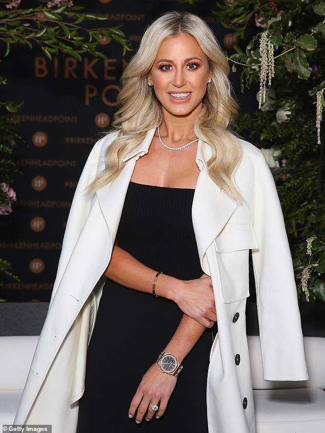 Rockstar renovations! PR queen Roxy Jacenko supervises the arrival of a huge marble benchtop at her $6.5 million Vaucluse mansion