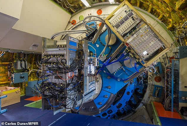 The GREAT device is located on-board the Stratospheric Observatory for Infrared Astronomy (SOFIA), a modified Boeing 747 aircraft that carries a reflecting telescope