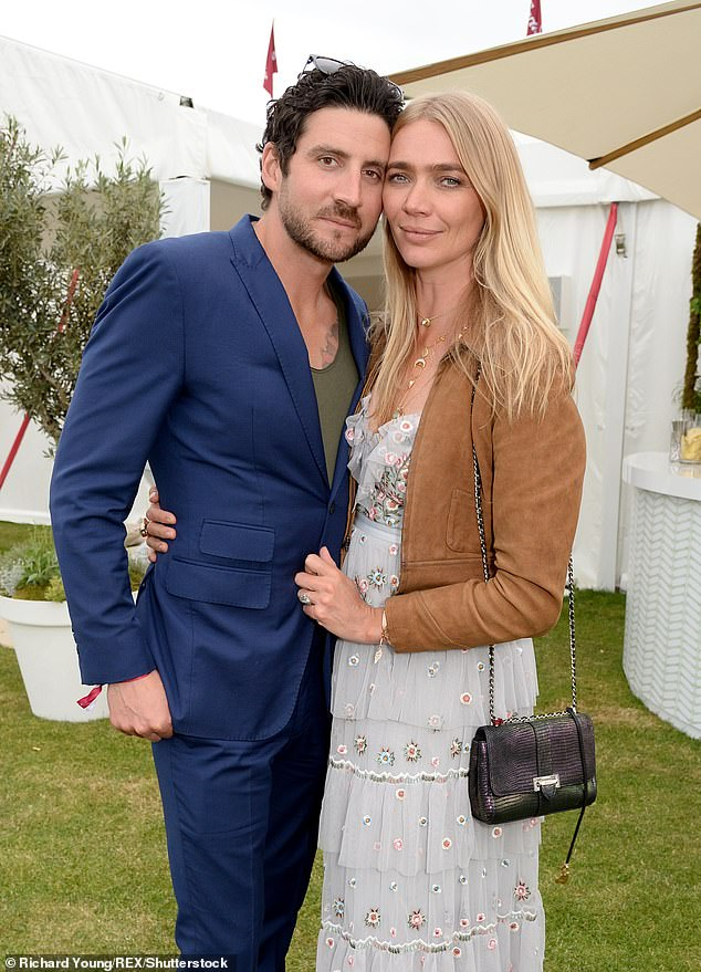 Romance: While Indio is the main man in her life, Jodie is also in a relationship with former Royal Marine turned creative agency exec beau Joseph Bates