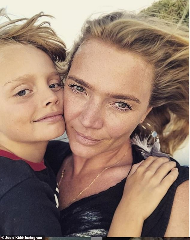 Her boy:Jodie spoke about parenting with Andi, and admitted it's expectations and interference from others, when asked what the worst part about being a mother is
