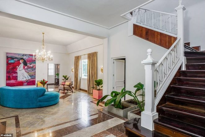 A mansion located in Havana is being listed byRaúl Castro's granddaughter for $650 a night on Airbnb