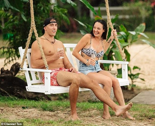 'I was blindsided!' Bachelor in Paradise star Brittney Weldon has revealed she was genuinely heartbroken by Ivan Krslovic's decision to giveTenille Favios a rose instead of her