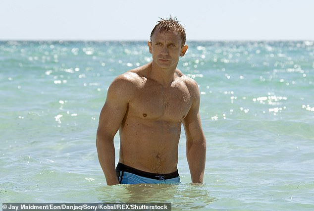 Phoebe will film the next James Bond movie with Daniel Craig (picture above in Casino Royale)