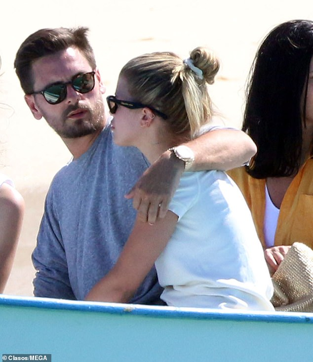 Whirlwind: On Friday, Sofia Richie, 20, jetted off to Mexico with Scott Disick, 35