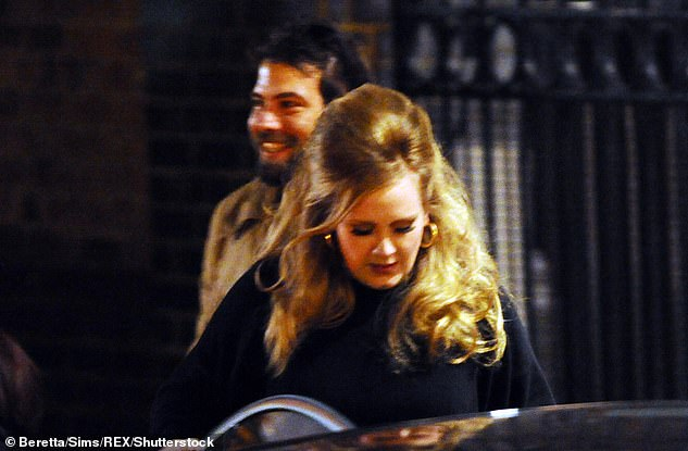 Heartache:The singer's representatives said on Friday night: 'Adele and her partner have separated.They are committed to raising their son together lovingly. As always they ask for privacy.' (pictured2012)