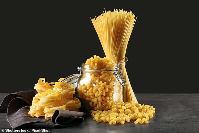 Pasta and rice can last for two years after best-before dates if dry and well-sealed
