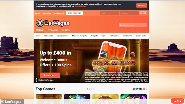 LeoVegas paid £34,000 towards Katie's rehab as 'a gesture of goodwill' as they put it