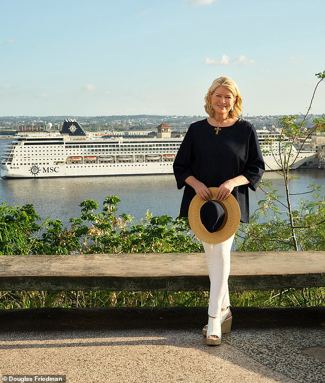 Ahoy: Culinary queen Martha Stewart announces the launch of her partnership with MSC Cruises