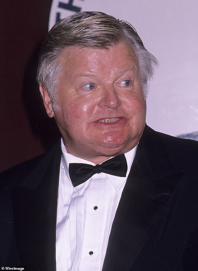 The sad, hidden life of Benny Hill: The iconic British comedian was 'lonely, depressed, felt ugly and was so scared of spending money he glued the soles of his worn shoes back on', according to a new book by veteran Hollywood journalist Craig Bennett. Pictured: Benny Hill