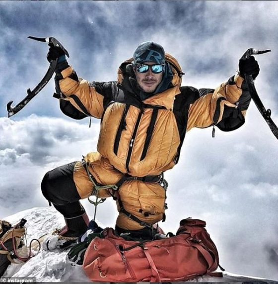 Hero: Nirmal Purja had been completing his own expedition when he learnt Mr Chin was stranded