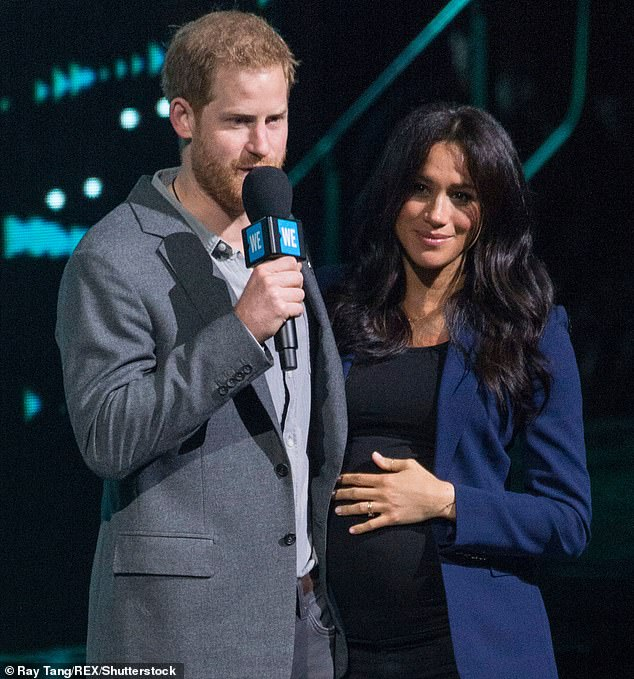 Harry and Meghan (pictured above) have strayed from royal tradition and will not use the Lindo Wing