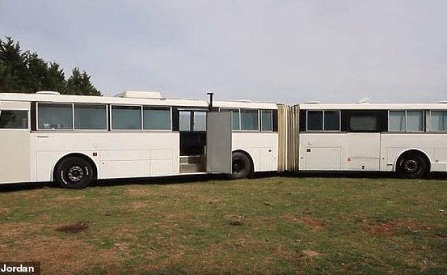Nick Jordan Converts An Old Bendy School Bus Into A