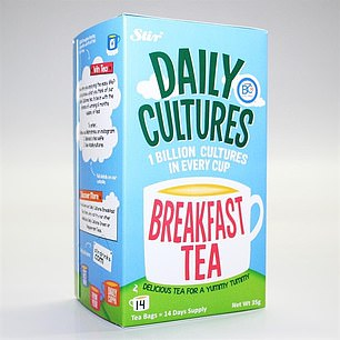 Infused: Black tea with an added probiotic ¿ a type of good bacteria ¿ to boost gut health