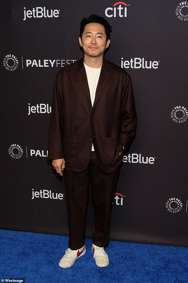 The Walking Deads Steven Yeun welcomes second child  a
