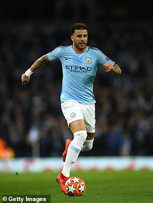Kyle Walker offers attacking intent